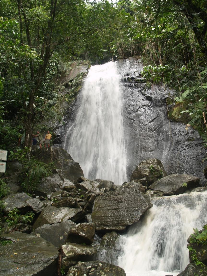 road side falls