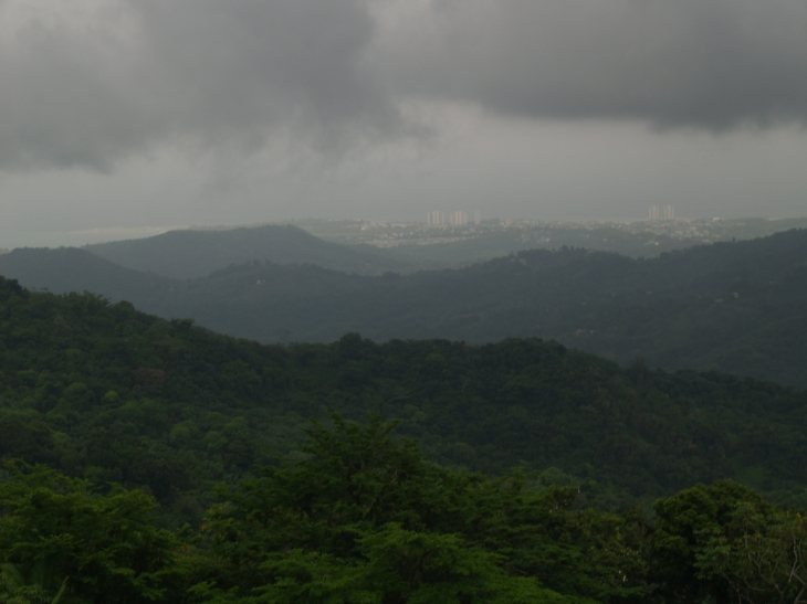 San Juan in the distance