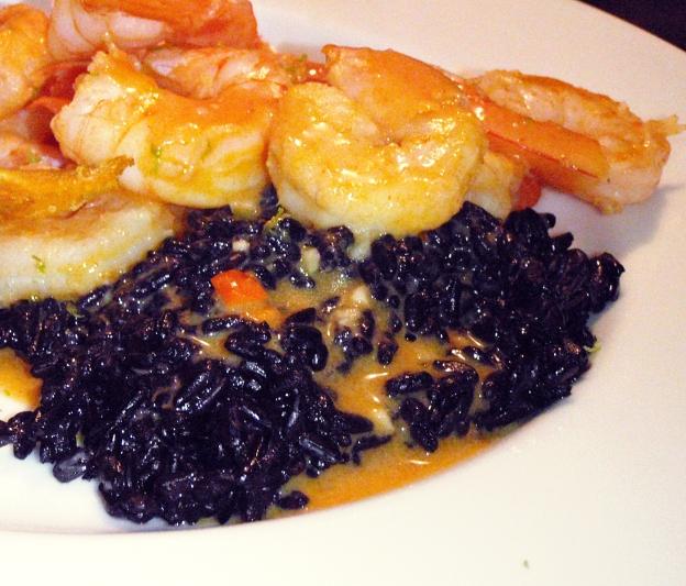 Double-Spiced Shrimp & Forbidden Rice | Good Food Hunting
